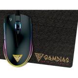 Cumpara ieftin Mouse Gaming Gamdias Zeus E1A + Nyx E1 Mousepad