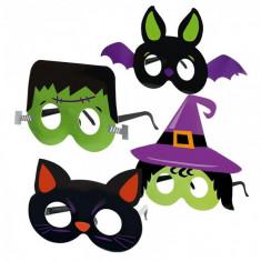 Set 4 Masti Halloween Carton