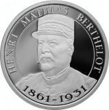 Moneda Romania 10 Lei 2019 - Proof ( Desavarsirea Marii Uniri - H.M. Berthelot )