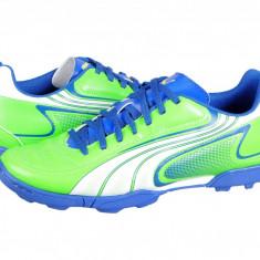 Ghete fotbal Puma V6.11 TT green-white-blu 10234810