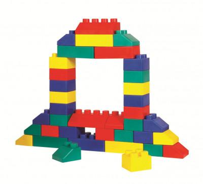 EduBLocks - Set piese mari de constructie - 26 piese foto