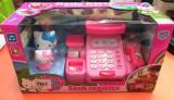 Casa de marcat cu accesorii cumparaturi Hello Kitty GB36A