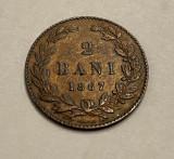 Romania 2 Bani 1867 Heaton