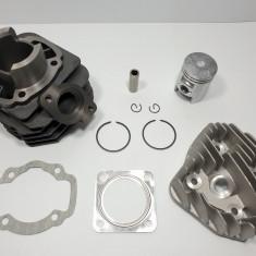 Kit Cilindru Set Motor + Chiuloasa Scuter KYMCO Meteorit 49cc 50cc AER