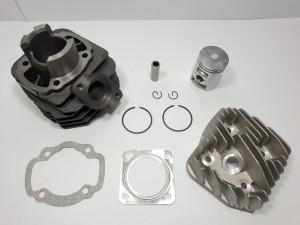 Kit Cilindru Set Motor + Chiuloasa Scuter KYMCO ZX 49cc 50cc AER
