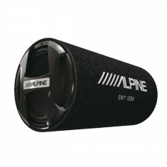 Subwoofer auto Alpine SWT 12S4 300w RMS incinta tip tub difuzor 300 mm