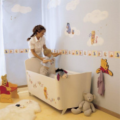 Bordura autoadeziva perete 5m Winnie the Pooh