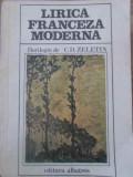 LIRICA FRANCEZA MODERNA-FLORILEGIU DE C.D. ZELETIN