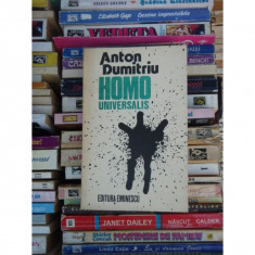 HOMO UNIVERSALIS , ANTON DUMITRU