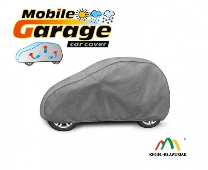Prelata auto, husa exterioara Smart Fortwo impermeabila in exterior anti-zgariere in interior lungime 250-270cm, S1 Hatchback model Mobile Garage