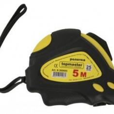 Ruleta dublu stop 5mx25mm, TopMaster