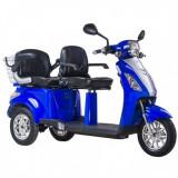 Tricicleta electrica 2 locuri, 1000 W, 25 km/h, Z-Tech ZT 18