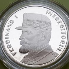 50 Bani 2019 PROOF , regele Ferdinand I intregitorul