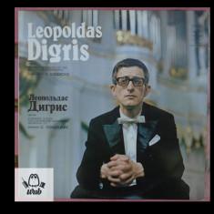 Leopoldas Digris la orga - disc vinil in stare excelenta
