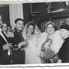 Fotografie ofiter roman nunta perioada interbelica
