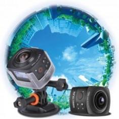 Camera actiune 360 grade Wifi, VR video Panorama full HD, Andoer