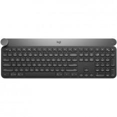 Tastatura Wireless Logitech CRAFT with creative input dial - BT, US International layout