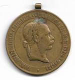 Kriegsmedaille 1873 medalie militara austro-ungara veche, Europa