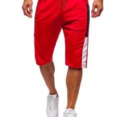Pantaloni scurți de trening bărbați roșu Bolf 81023