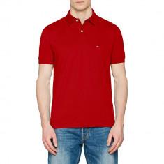 Tricou Tommy Hilfiger Haute Red Slim Fit, Slim Fit, culoare Rosu, marime L