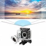 Camera video sport, subacvatica, 4K, 16 mpx, negru, Gonga
