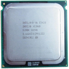 Xeon E5430 Quad Core 2.66Ghz, 12Mbcache ,sk771 modat 775 performante Q9550,Q9650, Intel, Intel Core 2 Quad, 4