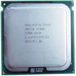Xeon E5430 Quad Core 2.66Ghz, 12Mbcache ,sk771 modat 775 performante Q9550,Q9650