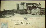 Carte postala ilustrata, Salutari din Polonia, Kracovia, Castelul Wawel, 1901, Circulata, Printata