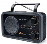 Radio Portabil Muse M-068 DS, FM-MW (Negru)