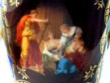 ROYAL VIENNA ALT WIEN - CEHOSLOVACIA PORTELAN PICTAT PERIOADA MEISSEN VAZA