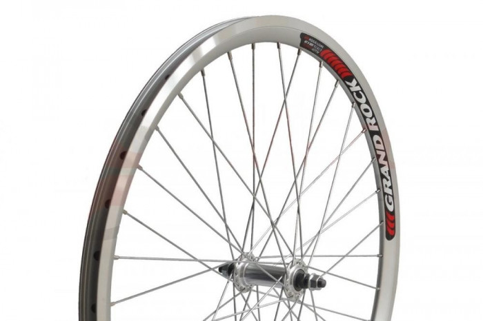 Roata Fata Bicicleta 28x1.50 - 1.75 - Aluminiu - Dubla