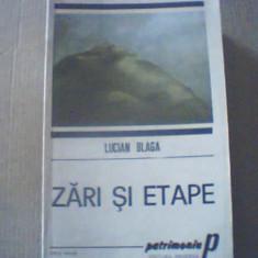Lucian Blaga - ZARI SI ETAPE { 1990 }