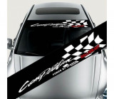 Sticker parasolar auto Competition