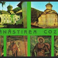 MANASTIREA COZIA – MONUMENT ISTORIC – PICTURI - CP NECIRCULATA #colectosfera