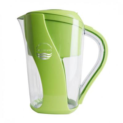 Cană de purificare a apei (până la -400 ORP) verde foto