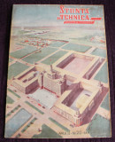 STIINTA SI TEHNICA Nr 20 / 1951 proletcultism, ilustratii grafica propaganda RPR