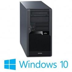 PC Refurbished Fujitsu ESPRIMO P5731, Quad Core Q9450, Win 10 Home
