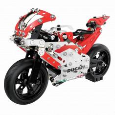 Set de construit cu piese metalice Meccano Ducati Mogo Gp cu suspensie