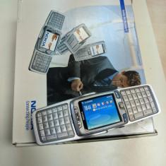 NOKIA E70 vintage de colectie - Symbian 3G Decodat Qwerty Slide cutia originala