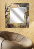 Oglinda decorativa Mirror Art, din Plexiglas, 30 x 30 cm, 235MRA1119