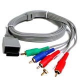 Cablu AV Audio Video Compozit pt consola Nintendo Wii pt conectare la TV vechi