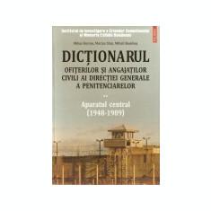 Dictionarul ofiterilor si angajatilor civili ai Directiei Generale a Penitenciarelor, vol. 2