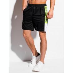 Pantaloni scurti barbati - W315 - negru