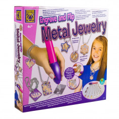 Instrument gravat bijuterii Creative, placute metalice incluse