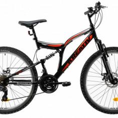 Bicicleta Mtb Kreativ 2643 M Negru Rosu 26 Inch
