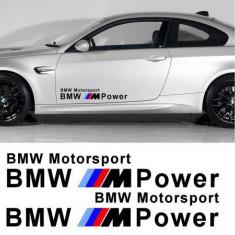 Sticker auto laterale BMW M Power (set 2 buc.)