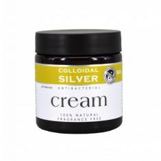Cumpara ieftin Crema Argint Coloidal natural cu ulei de cocos 100 ml