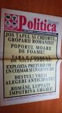 ziarul politica 7 martie 1998 - partidul romania mare ,corneliu vadim tudor