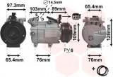 Compresor clima / aer conditionat VOLVO C30 (2006 - 2012) VAN WEZEL 1800K391
