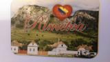 XG Magnet frigider - tematica Romania- Rimetea